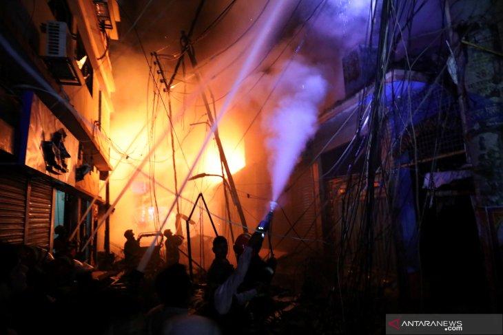 Sejumlah pasien COVID-19 tewas dalam kebakaran RS
