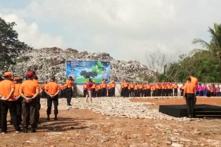 Hari Peduli Sampah Nasional, Polda Jambi gelar apel di TPA Talang Gulo