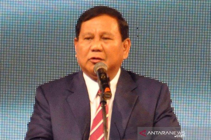 Ini pantun Prabowo saat perayaan Hari Buruh