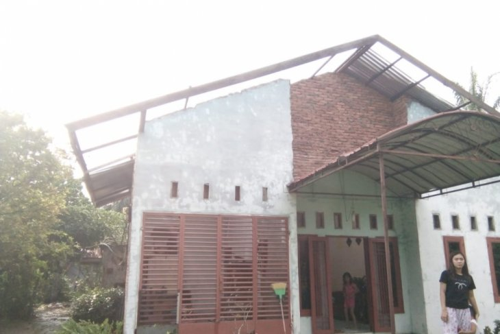 Angin puting beliung melanda Kota Binjai