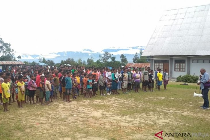 53 orang pengungsi Nduga meninggal