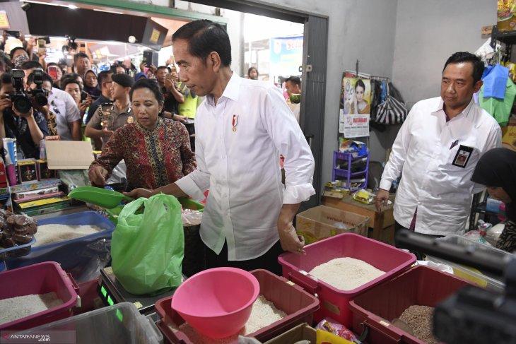 Jokowi distributes micro credit to 600 farmers