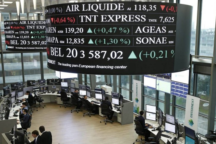 Saham Eropa naik atas optimisme pemulihan ekonomi dari COVID-19