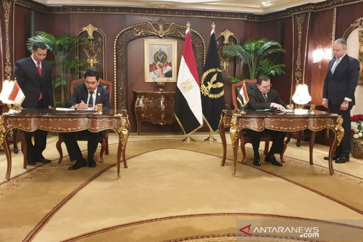 Indonesia, Egypt forge cooperation in counterterrorism