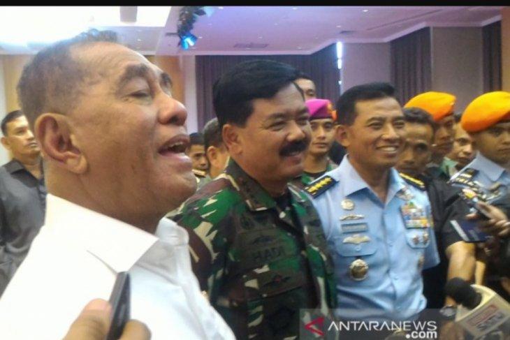 Menhan: Jabatan sipil tidak akan diisi TNI aktif
