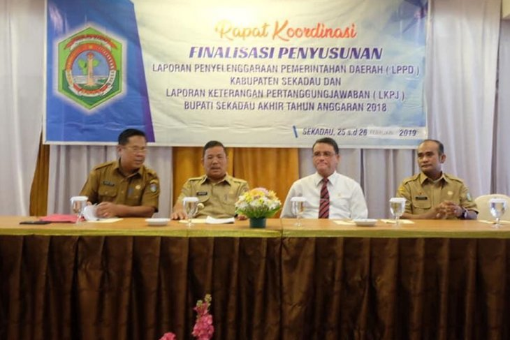 Bupati Rapinus buka rakor finalisasi penyusunan LPPD dan LKPJ
