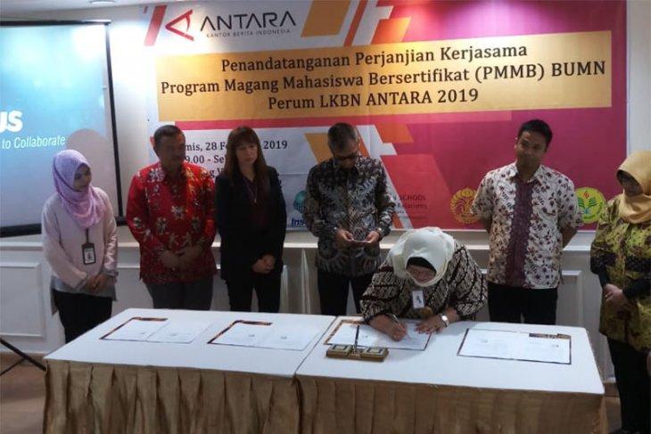 LKBN ANTARA-tujuh PTN/PTS Jakarta kerja sama