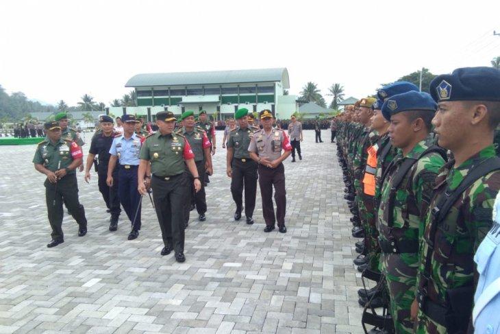 Pangdam XIII/Merdeka Pimpin Apel Pengamanan Kunjungan Presiden