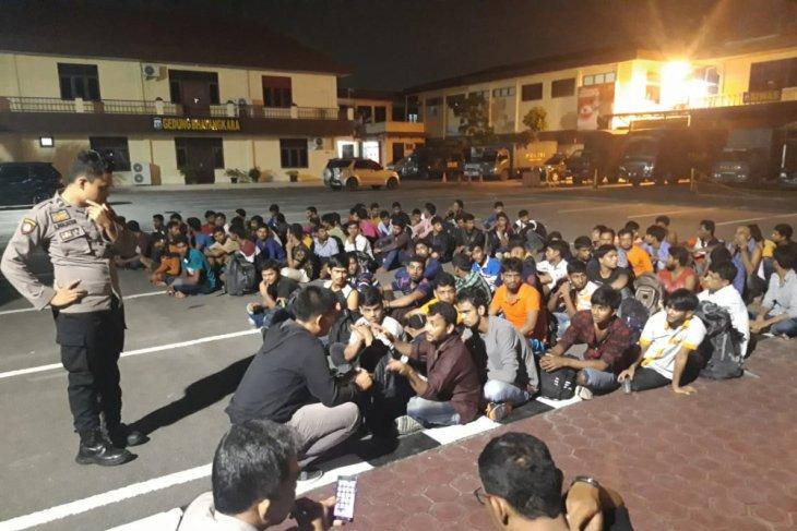 Polisi di Medan amankan imigran gelap asal Bangladesh