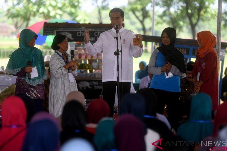 Mekaar beneficiaries should follow three principles for success: Jokowi