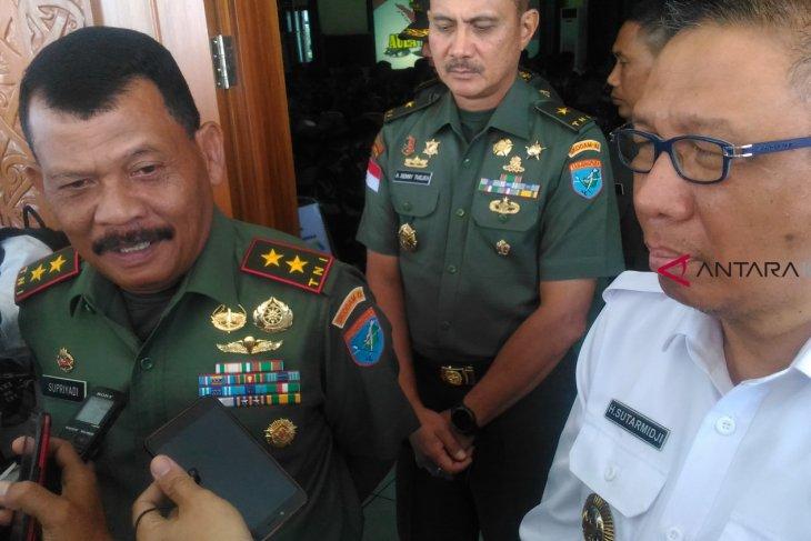 Kodam XII/Tpr siapkan 100 prajurit sebagai guru perbatasan