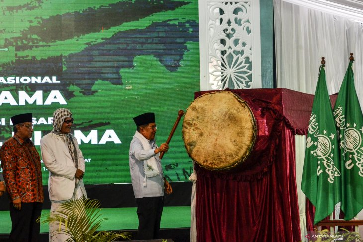 Jusuf Kalla  appreciates Nahdlatul Ulama`s recommendations on plastic waste reduction