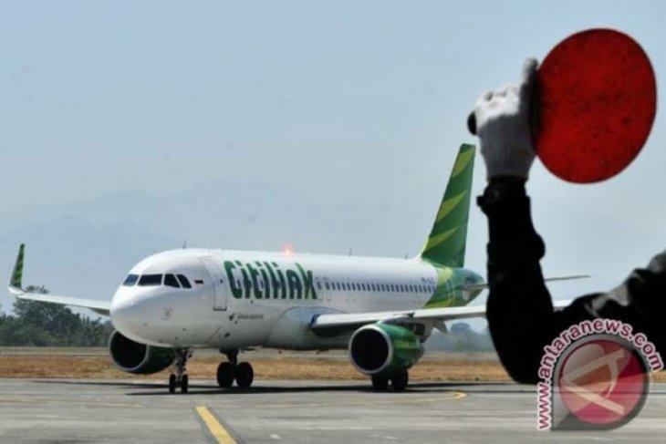 Citilink mulai mendarat di Bandara Aek Godang Minggu