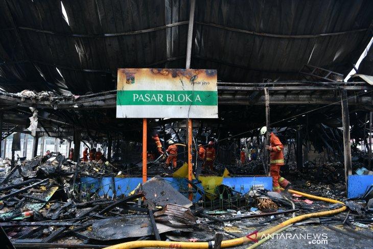 Block A market in South Jakarta gutted by fire