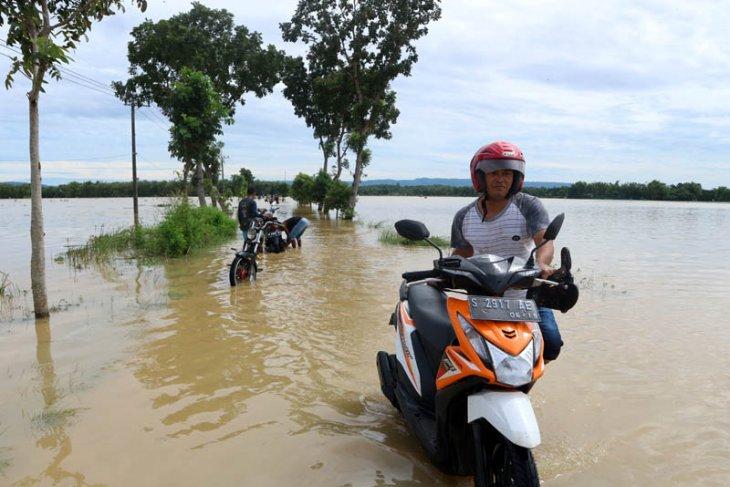 Kerugian banjir Bojonegoro capai Rp1 miliar