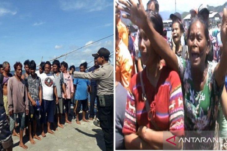 Disambut isak tangis keluarga, 19 ABK Formosa tiba di Sibolga