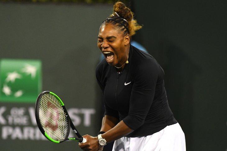 Petenis Serena kembali berkompetisi di Italia