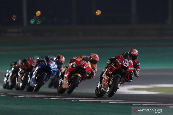 Seri pembuka MotoGP di Qatar dibatalkan karena virus corona