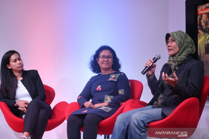 Indonesian female journalists talk about equality on IWD celebration