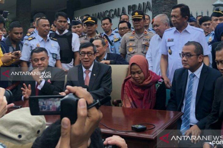 Siti Aisyah, tersangka pembunuh Kim Jong-nam,  berterima kasih kepada Presiden