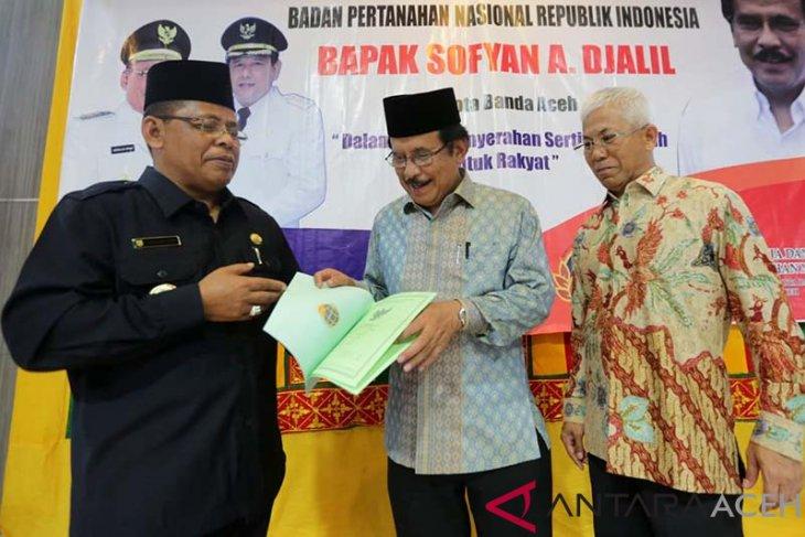 Menteri ATR/BPN yakin target 10 juta sertifikat tercapai pada 2019