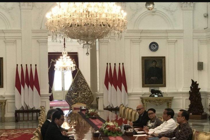 Presiden Jokowi terima kunjungan Menlu Thailand bahas isu ASEAN