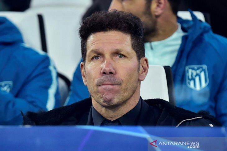 Simeone pasang badan atas kekalahan Atletico dan ucapkan selamat kepada Juventus