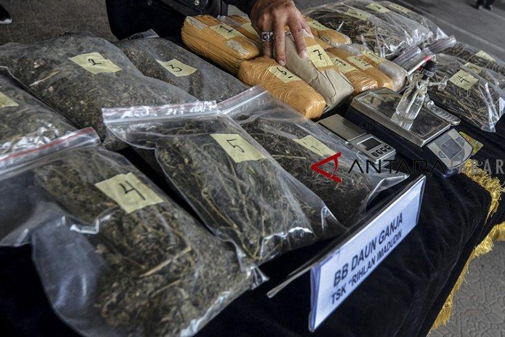 Polres Badung tangkap lima pengedar sabu