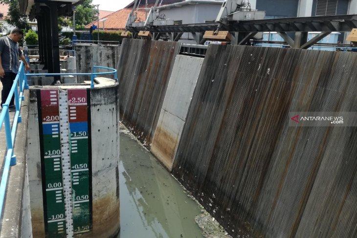 Pintu Air Pasar Ikan berstatus siaga dua