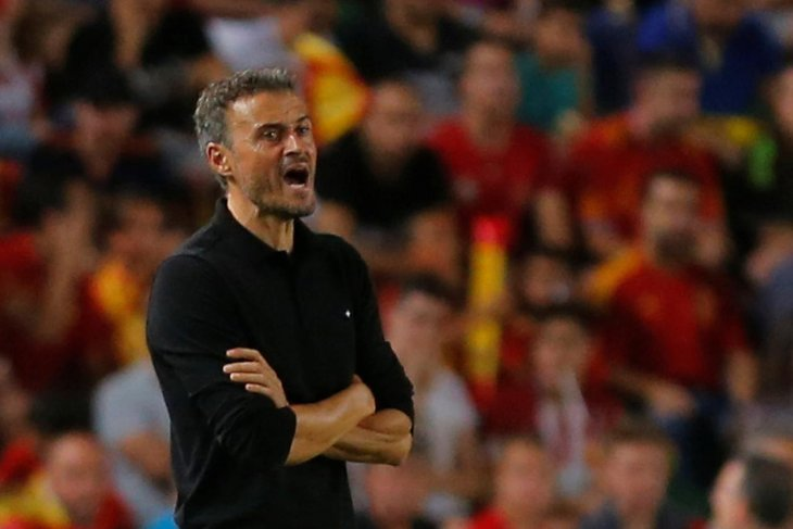 Nations League - Kontra Jerman, Enrique masih rahasiakan nama kiper Spanyol