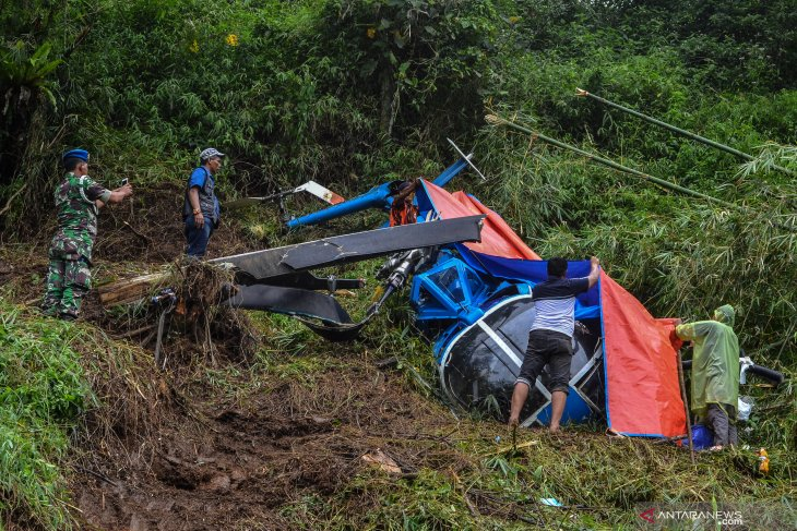 Wreckage of chopper in Tasikmalaya not yet cleared: Authority