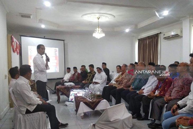 Sempat dilarang Kapolri ke Sibolga, Jokowi tetap datang