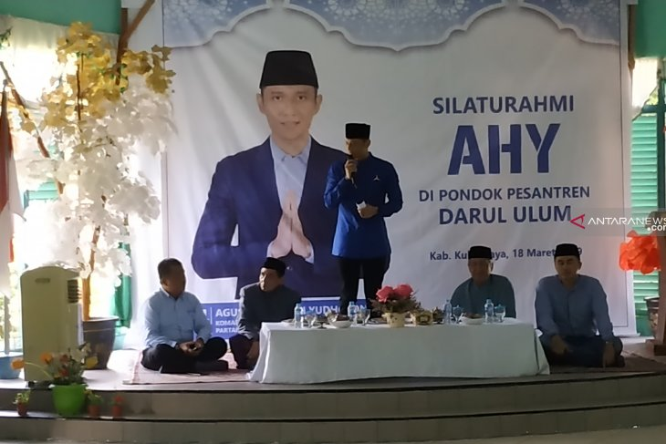 AHY mohon doa kesembuhan untuk Ibu Ani Yudhoyono