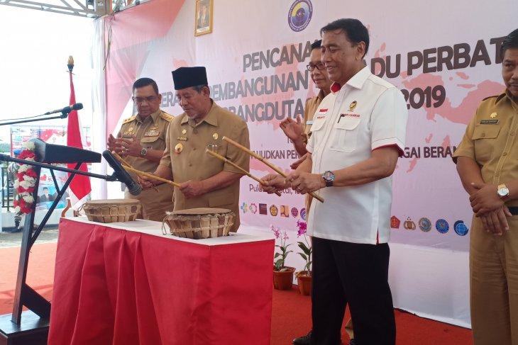 Wiranto launches Border Integrated Development Movement  in Morotai