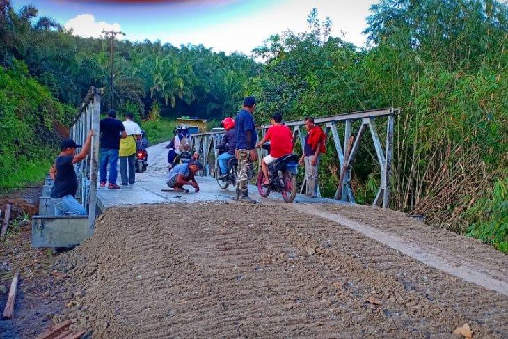 Jalan perbatasan di Sambas aman untuk mudik lebaran