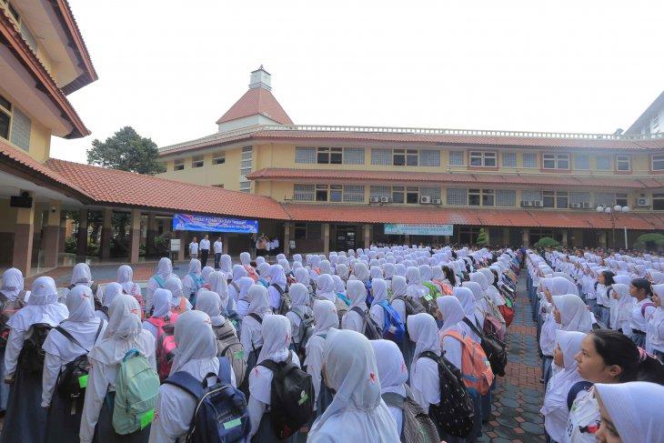 1.234 pelajar ikuti seleksi paskibraka Kota Tangerang