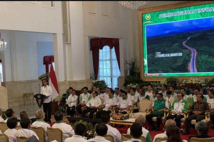Presiden Jokowi tegaskan capai swasembada pangan tak bisa secara instan