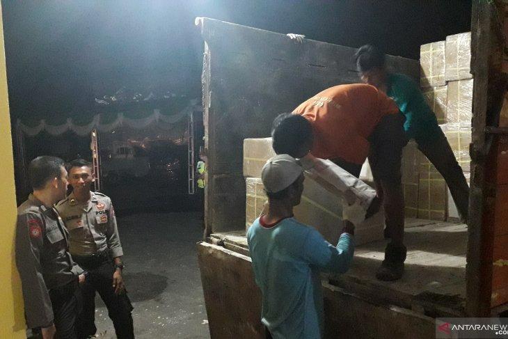 KPU Bangka Barat terima surat suara Pemilu 2019