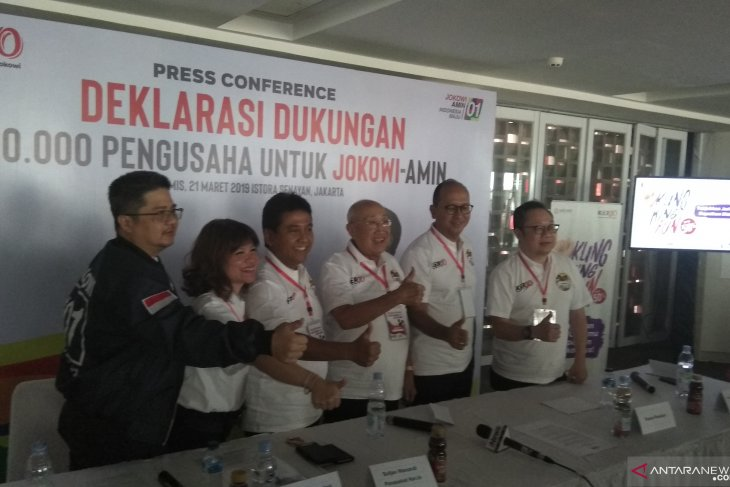 Entrepreneurs label Jokowi an unselfish president
