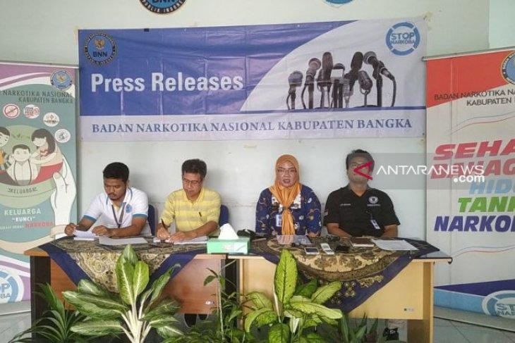 BNNK Bangka rehabilitasi 25 pengguna narkoba