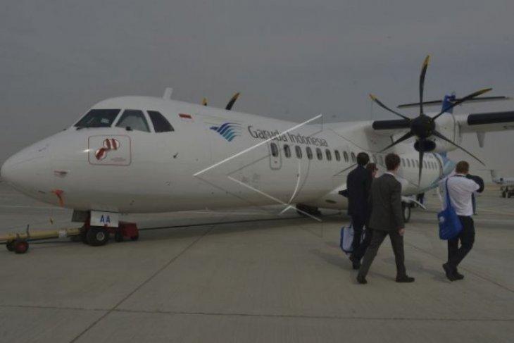 Pesawat ATR Garuda alami kerusakan