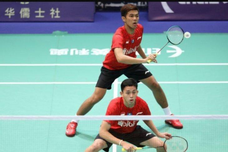 Fajar/Rian melaju ke babak kedua Indonesia Open 2019