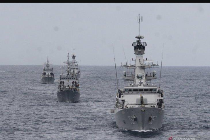 TNI AL tangkap tiga kapal Vietnam di Perairan Natuna