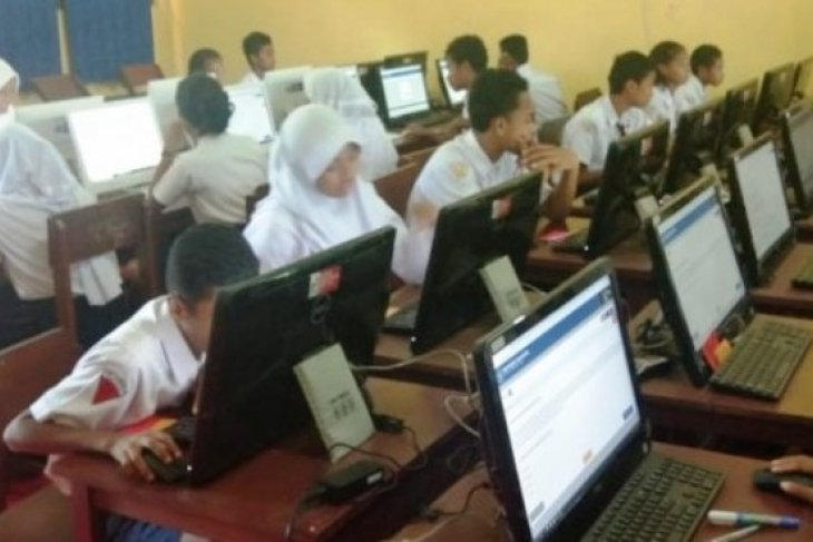 5.816 Siswa SMK di Gorontalo Ikuti UNBK