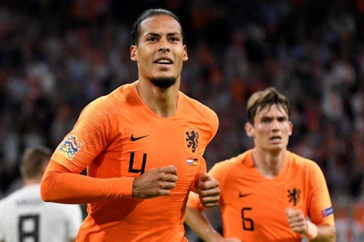 Van Dijk tak mau remehkan Jerman