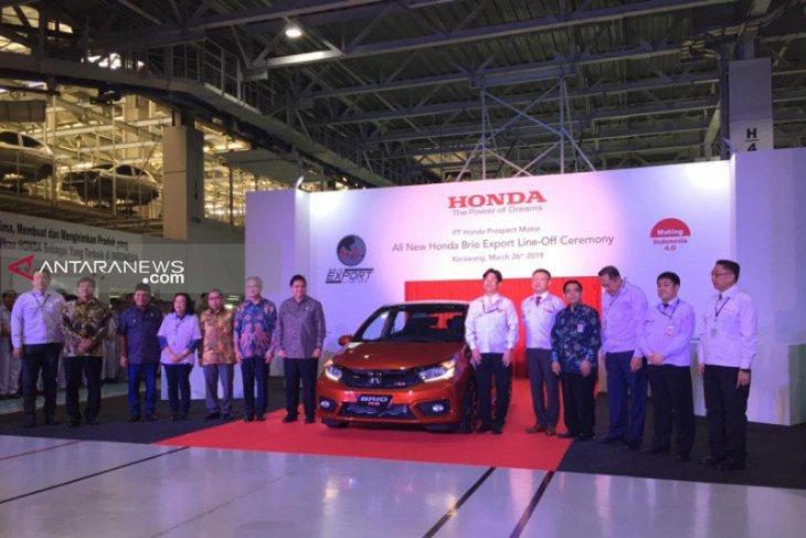 Honda Brio produksi Indonesia akan diekspor ke Filipina-Vietnam