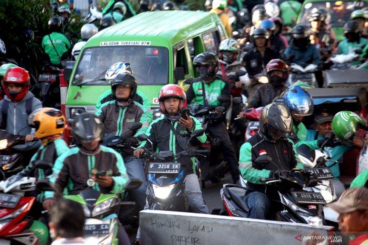 Ojek online di Kabupaten Bogor boleh angkut penumpang mulai hari ini