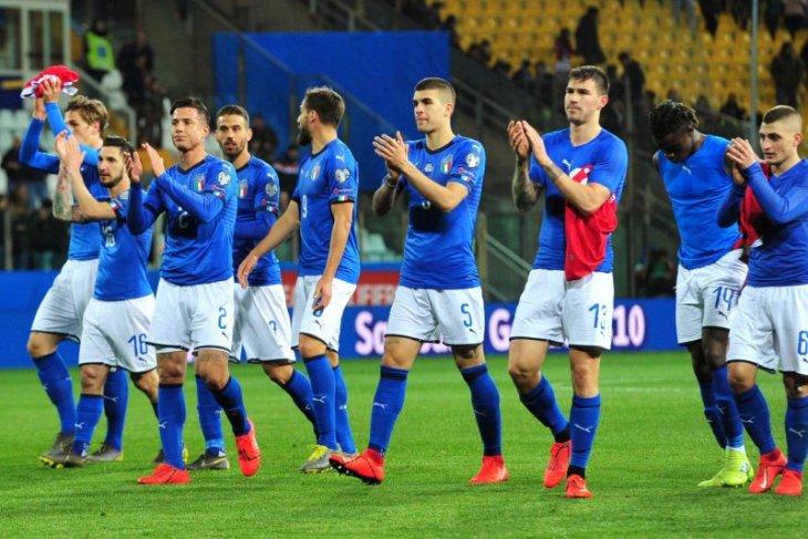 Italia hancurkan Liechtenstein 6-0