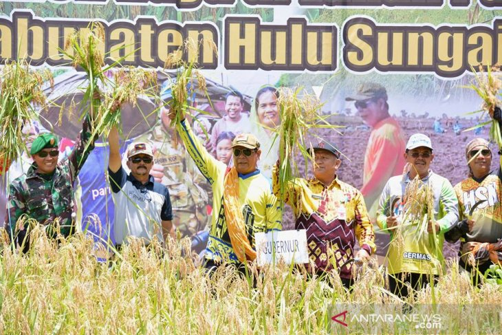 Paman Birin ajak pertahankan Kalsel penyangga produksi padi nasional