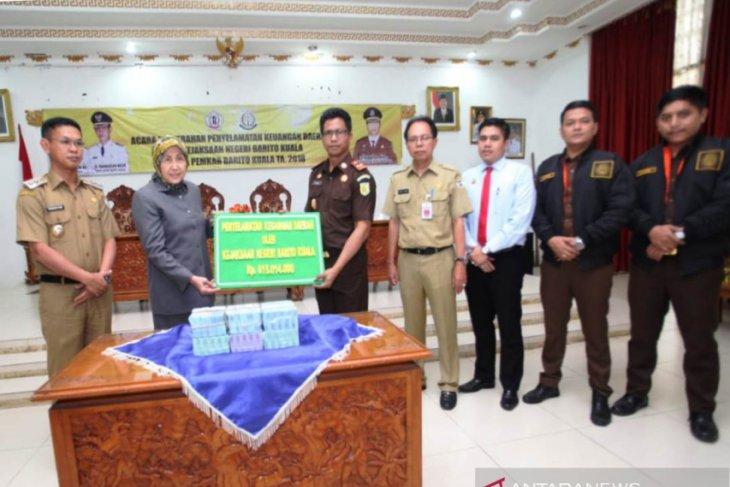 Kejari Batola selamatkan Rp615 juta uang negara